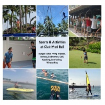 Sports & Activities at Club Med Bali 2017