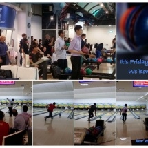 Bowling - Provides a casual atmosphere which allow us to develop and grow together!