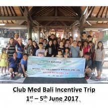 Club Med Bali 2017